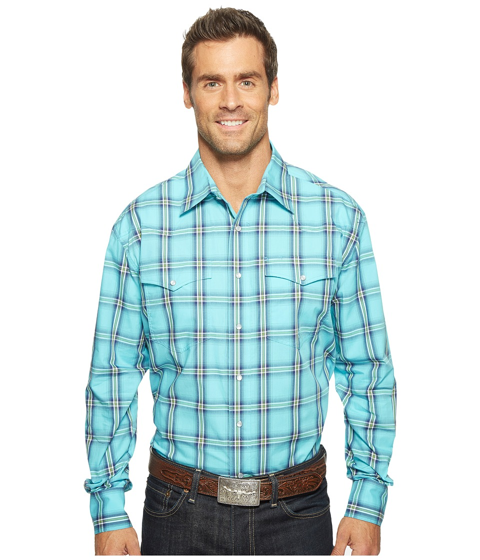 Roper Roper - 0831 Sea Ombre Plaid Snap