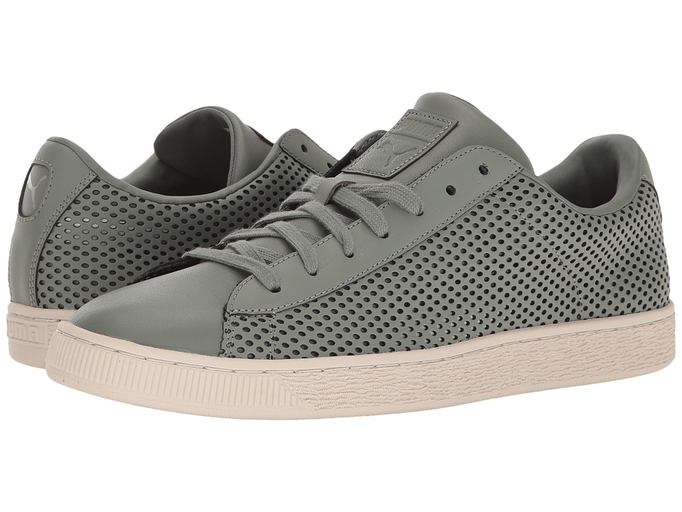 PUMA - Basket Classic Summer Shade (Agave Green) Mens Shoes