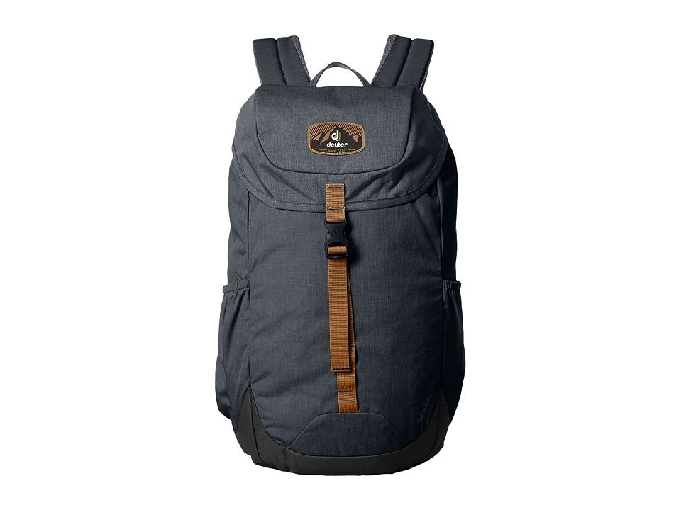Deuter Walker 16 (Anthracite/Black) Backpack Bags