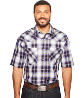 Roper - 0834 Driftwood Plaid Snap