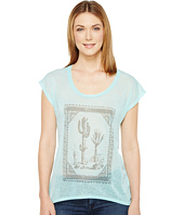 Roper - 0894 Sheer Poly Slub Jersey Short Sleeve Tee