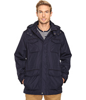 Perry Ellis - Poly Zip Front with Snap Placket & Removable Hood