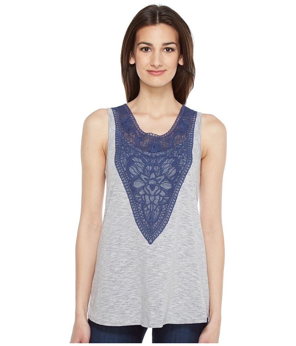 Roper Roper - 0890 Heather Jersey Tank Top