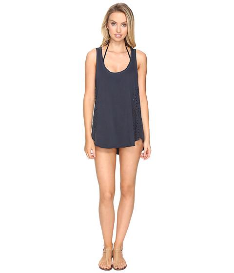 Billabong - Shady Lady Dress Cover-Up (Deep Sea Blue) Women's Swimwear