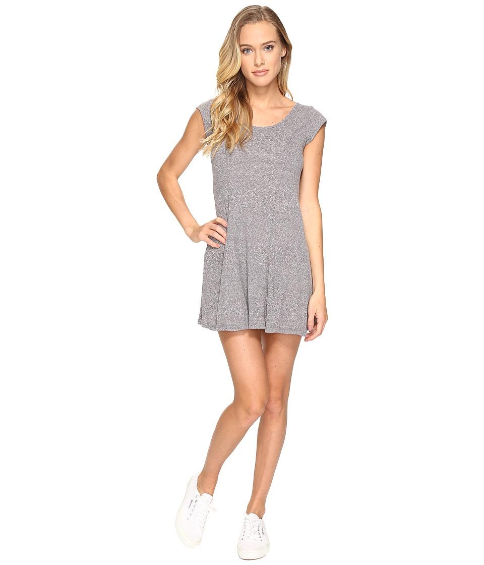 Billabong Same Love Dress (Dark Athletic Grey) Women