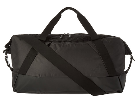 The North Face Apex Gym Duffel Bag - Medium - Asphalt Grey/TNF Black