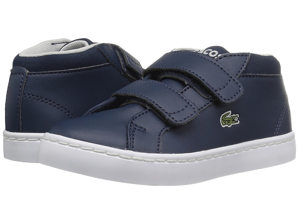 Lacoste Kids - Straightset Chukka 316 1 (Toddler/Little Kid) (Navy) Kids Shoes