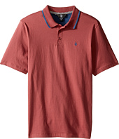 Volcom Kids - Wowzer Contrast Polo Top (Big Kids)