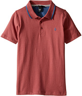 Volcom Kids - Wowzer Contrast Polo Top (Toddler/Little Kids)
