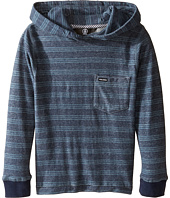 Volcom Kids - Alden Hooded Long Sleeve Top (Toddler/Little Kids)