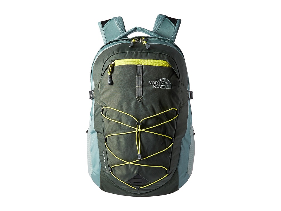 The North Face Borealis Backpack (Thyme/Chinois Green) Backpack Bags