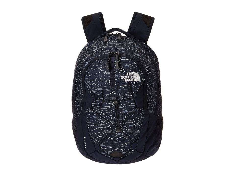 The North Face Jester (Urban Navy Lineland Print/Urban Navy) Backpack Bags