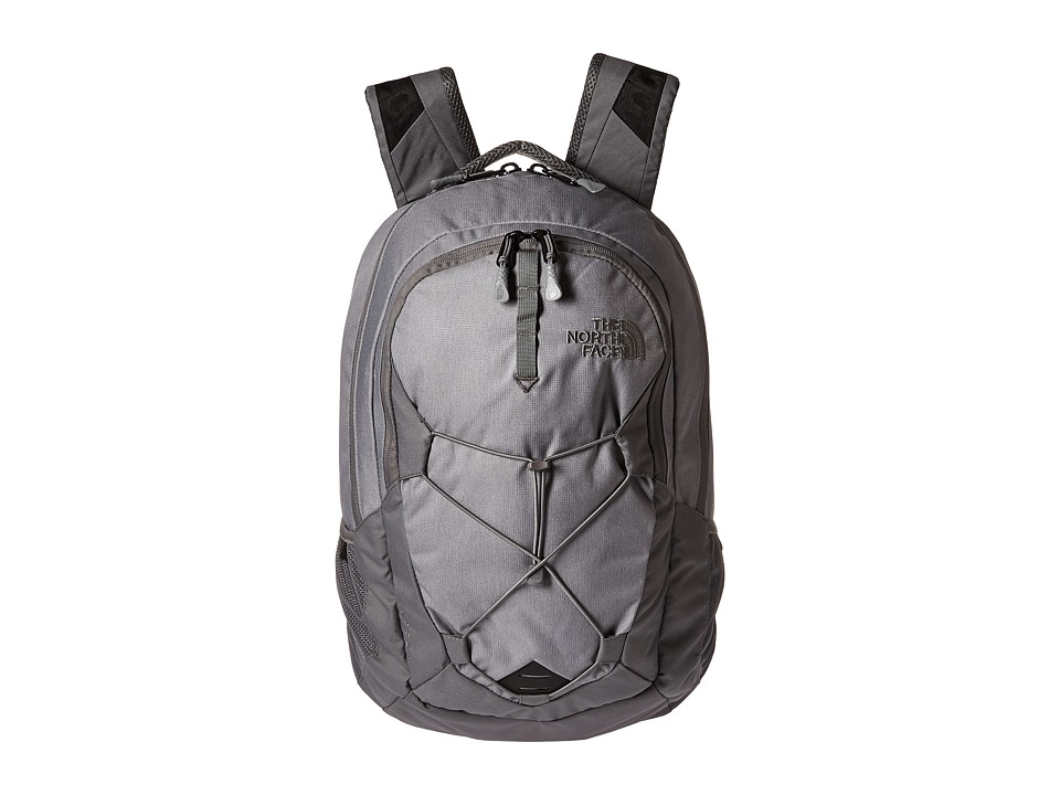 The North Face Jester (Mid Grey Dark Heather/Zinc Grey) Backpack Bags