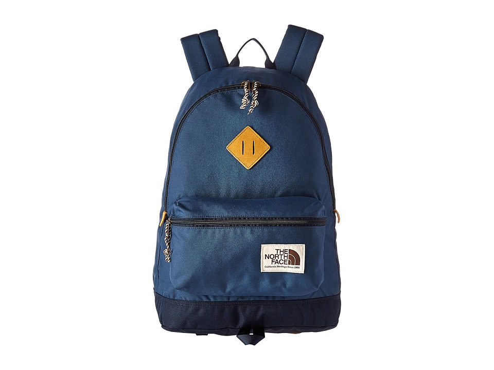 The North Face Berkeley Backpack (Shady Blue/Urban Navy) Backpack Bags