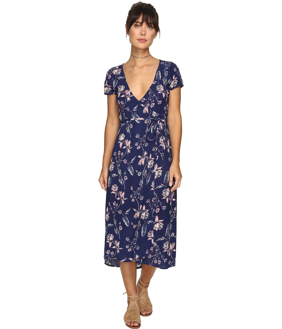 Billabong Wrap Me Up Dress (Starry Night) Women