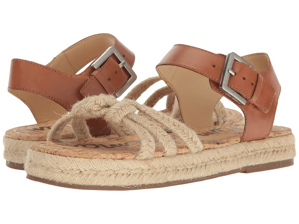 Sam Edelman - Avery (Saddle/Natural) Womens Dress Sandals