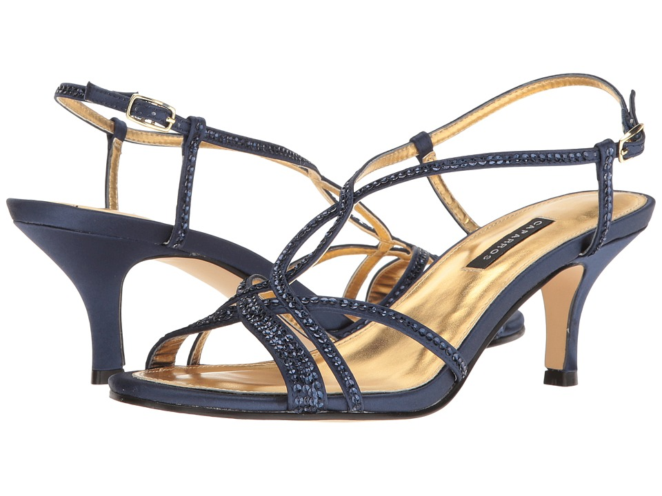 Caparros Pandora (Navy Satin) Women's Bridal Shoes