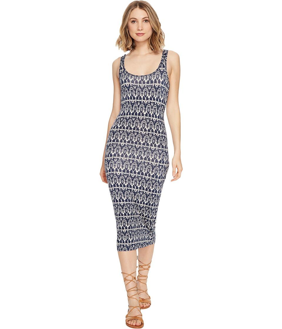 Billabong Share Joy Midi Dress (Deep Sea Blue) Women