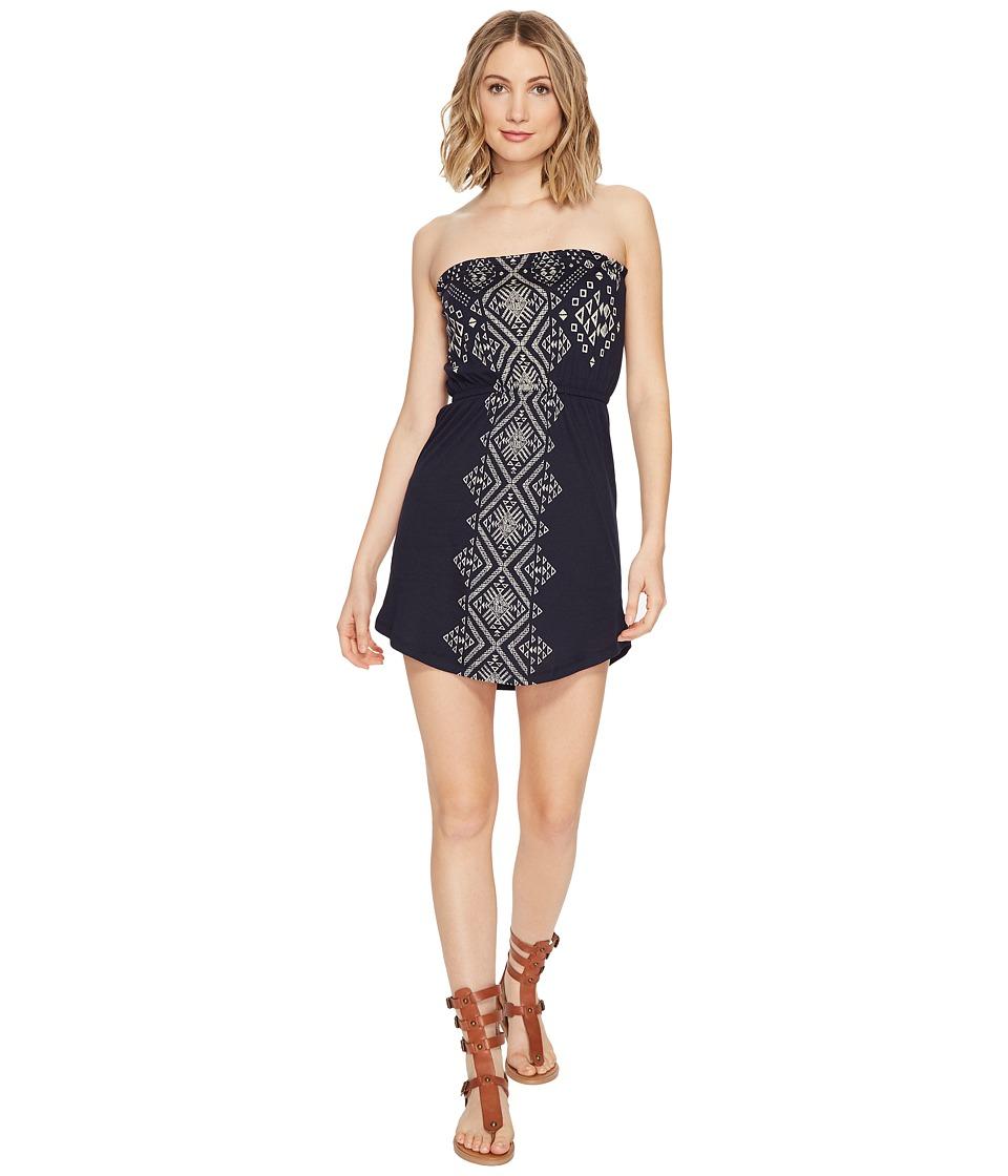 Billabong Here it is Dress (Deep Sea Blue) Women