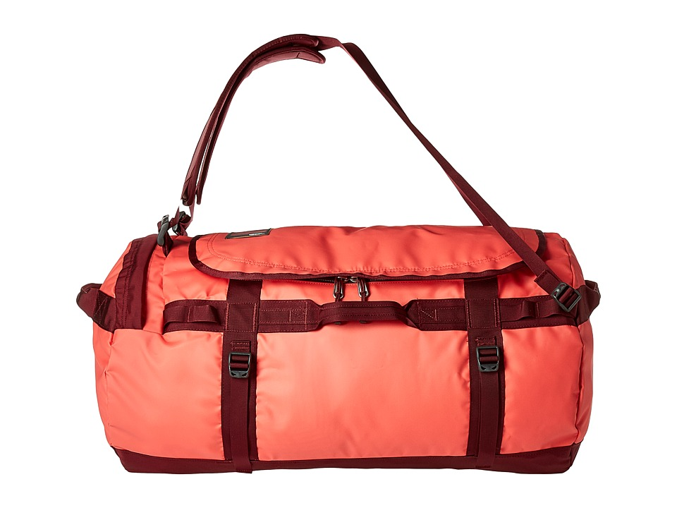 The North Face Base Camp Duffel Large (Cayenne Red/Regal Red) Duffel Bags