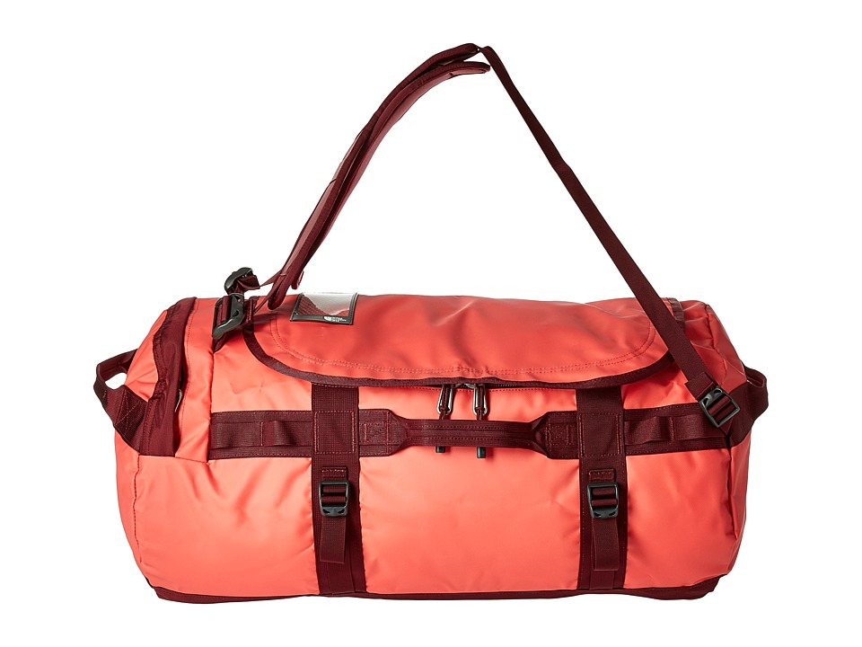 The North Face Base Camp Duffel Medium (Cayenne Red/Regal Red) Duffel Bags