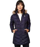 U.S. POLO ASSN. - Faux Fur Trimmed Parka Jacket