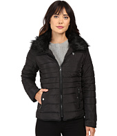 U.S. POLO ASSN. - Puffer Fashion Jacket with Fur Collar