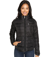 U.S. POLO ASSN. - Quilted Puffer Zip-Up Jacket