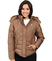 U.S. POLO ASSN. - Fur Hooded Puffer Jacket