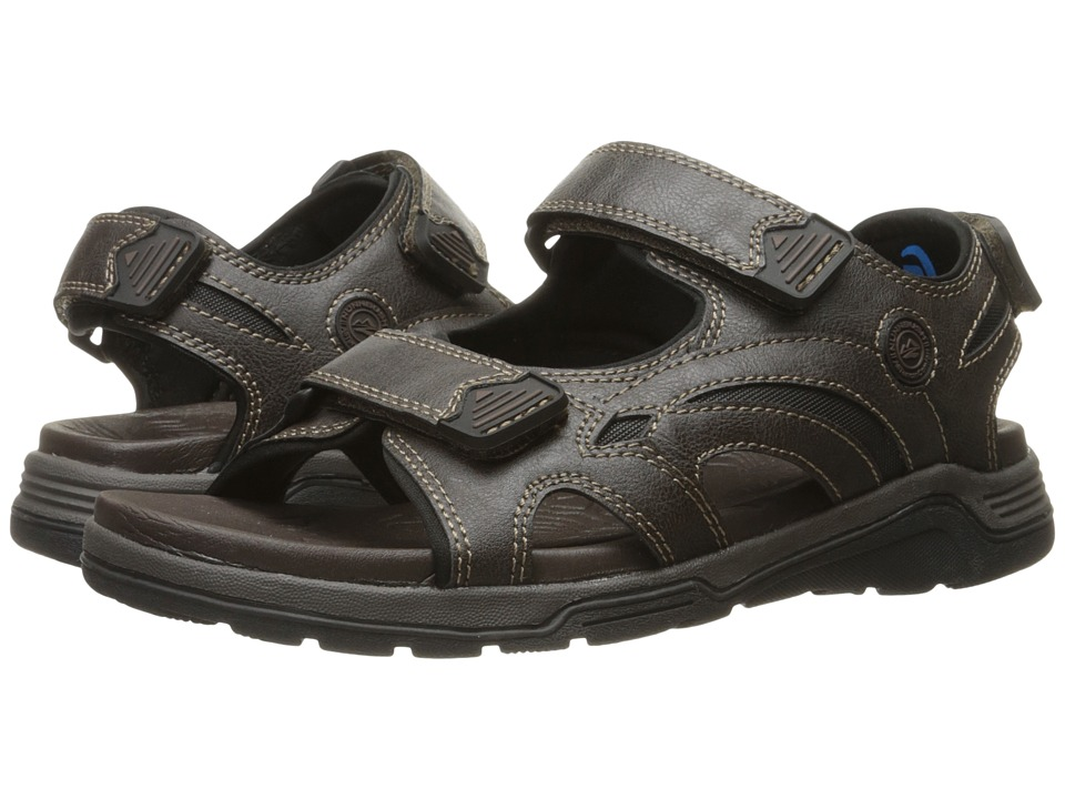 Nunn Bush Mojave Two Strap Sandal (Brown Chamois) Men