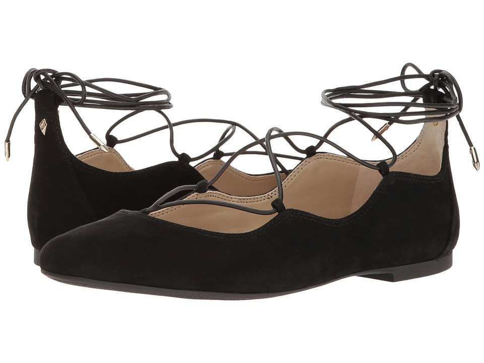Sam Edelman - Flynt (Black) Womens Dress Sandals