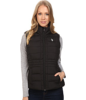 U.S. POLO ASSN. - Quilted Vest with Sherpa Lining