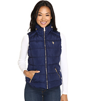 U.S. POLO ASSN. - Quilted Vest with Shirttail Hem