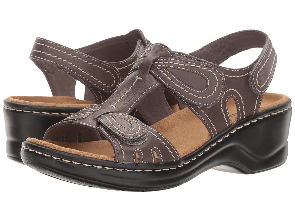 Clarks - Lexi Walnut Q (Grey Leather) Women's Sandals
