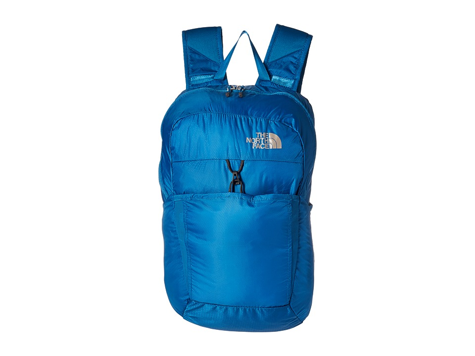 The North Face Flyweight Pack (Banff Blue/Metallic Silver) Backpack Bags