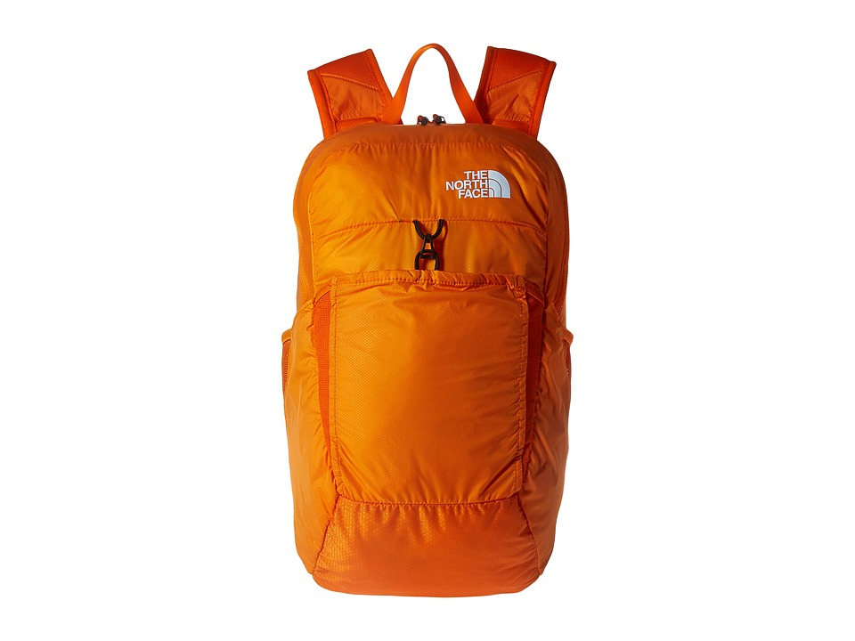 The North Face Flyweight Pack (Exuberance Orange/TNF White) Backpack Bags