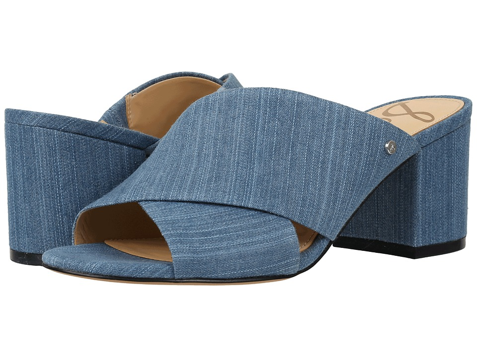 Sam Edelman - Stanley (Mid Blue) Womens Dress Sandals