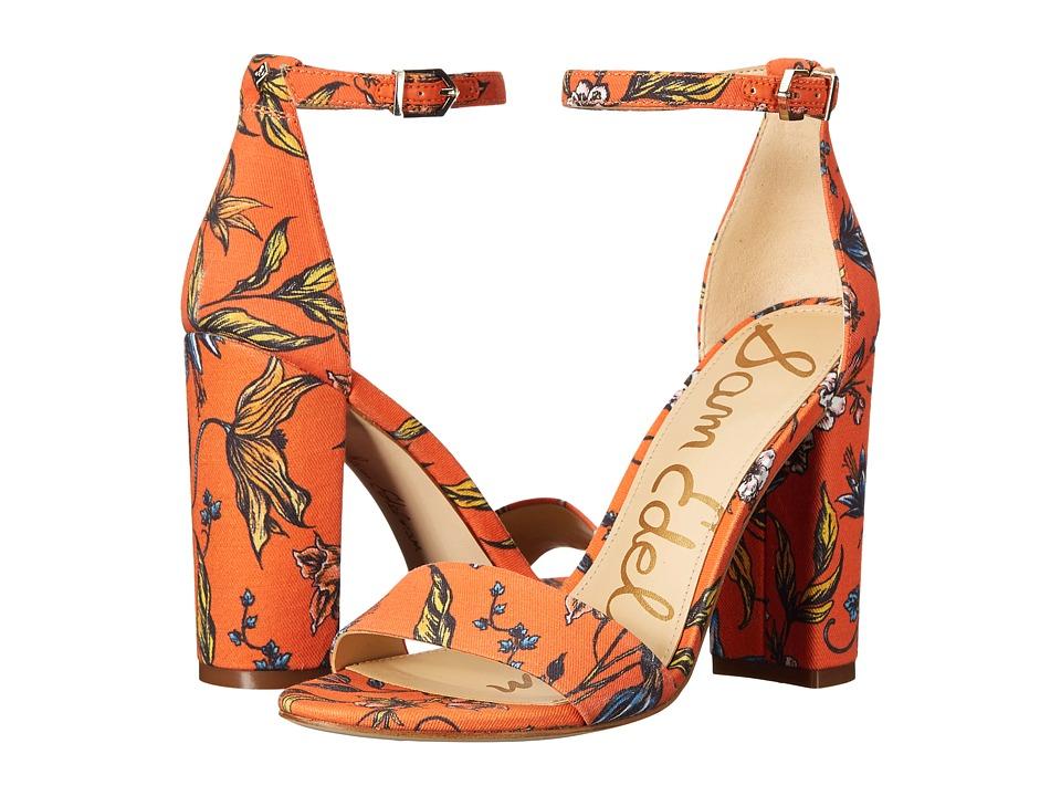 Sam Edelman Yaro (Orange) Women's Dress Sandals
