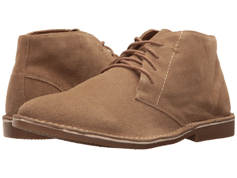 Nunn Bush Galloway Plain Toe Chukka Boot (Beige) Men