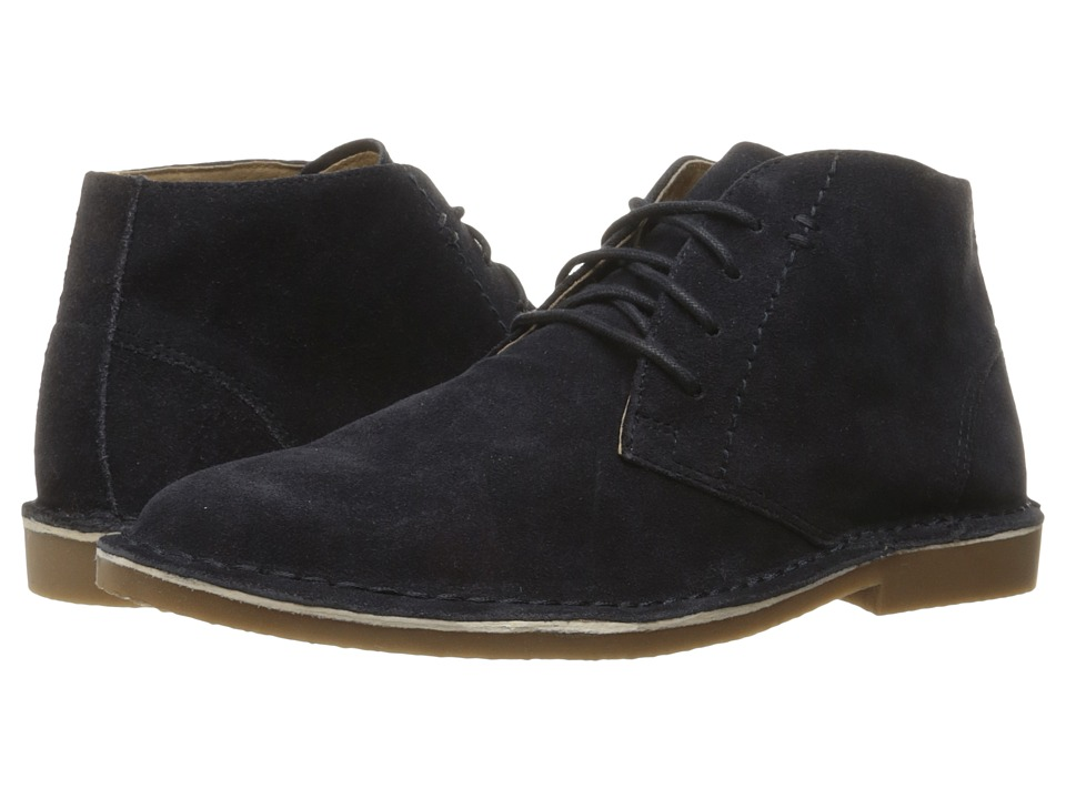 Nunn Bush Galloway Plain Toe Chukka Boot (Navy) Men