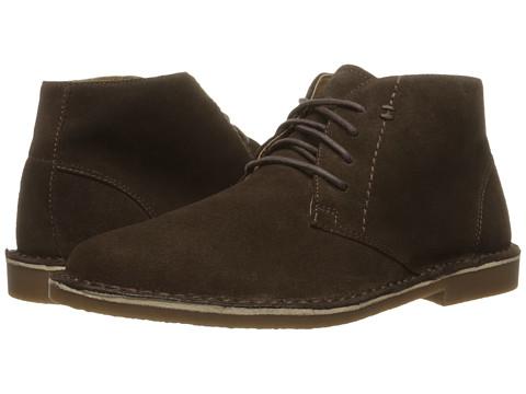 Nunn Bush Galloway Plain Toe Chukka Boot - Dark Brown