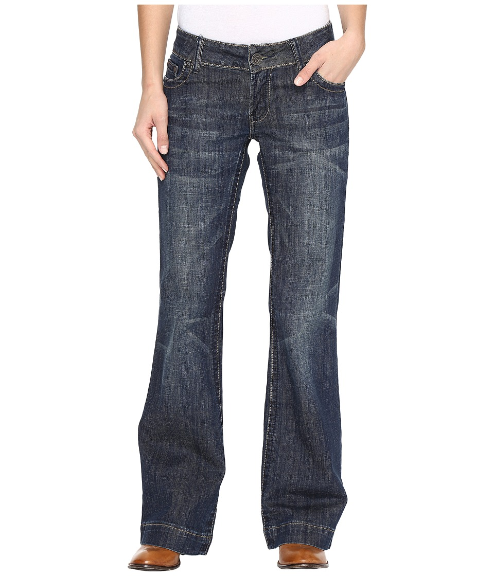 Stetson Denim Trouser S on Back Pocket (Blue) Women
