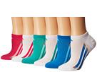 adidas Kids adidas Kids Vertical Stripe No Show Socks 6-Pack (Toddler/Little Kid/Big Kid/Adult)