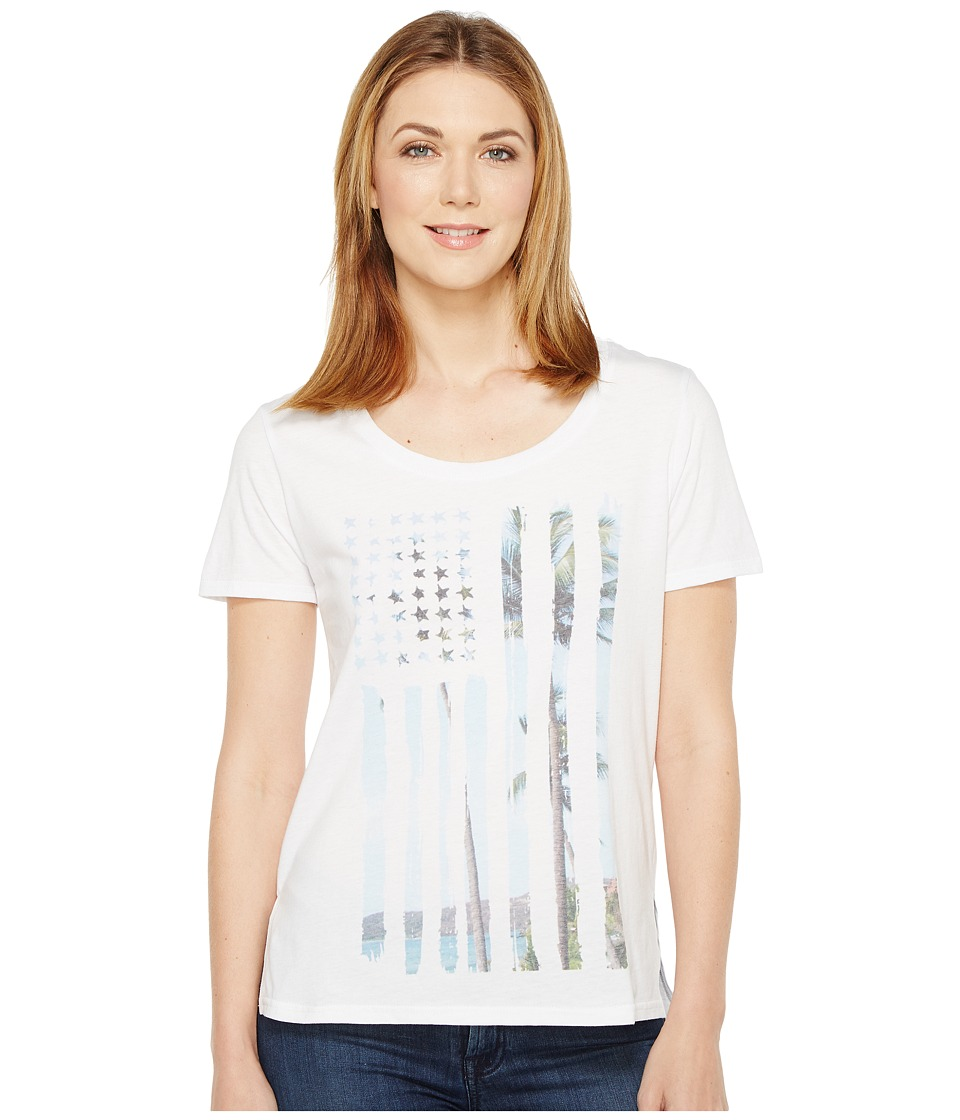 Roper 0860 Lightweight Jersey Tee (White) Women