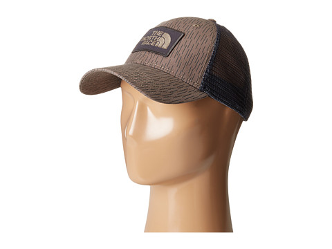 The North Face Printed Mudder Trucker Hat - Falcon Brown (Prior Season)