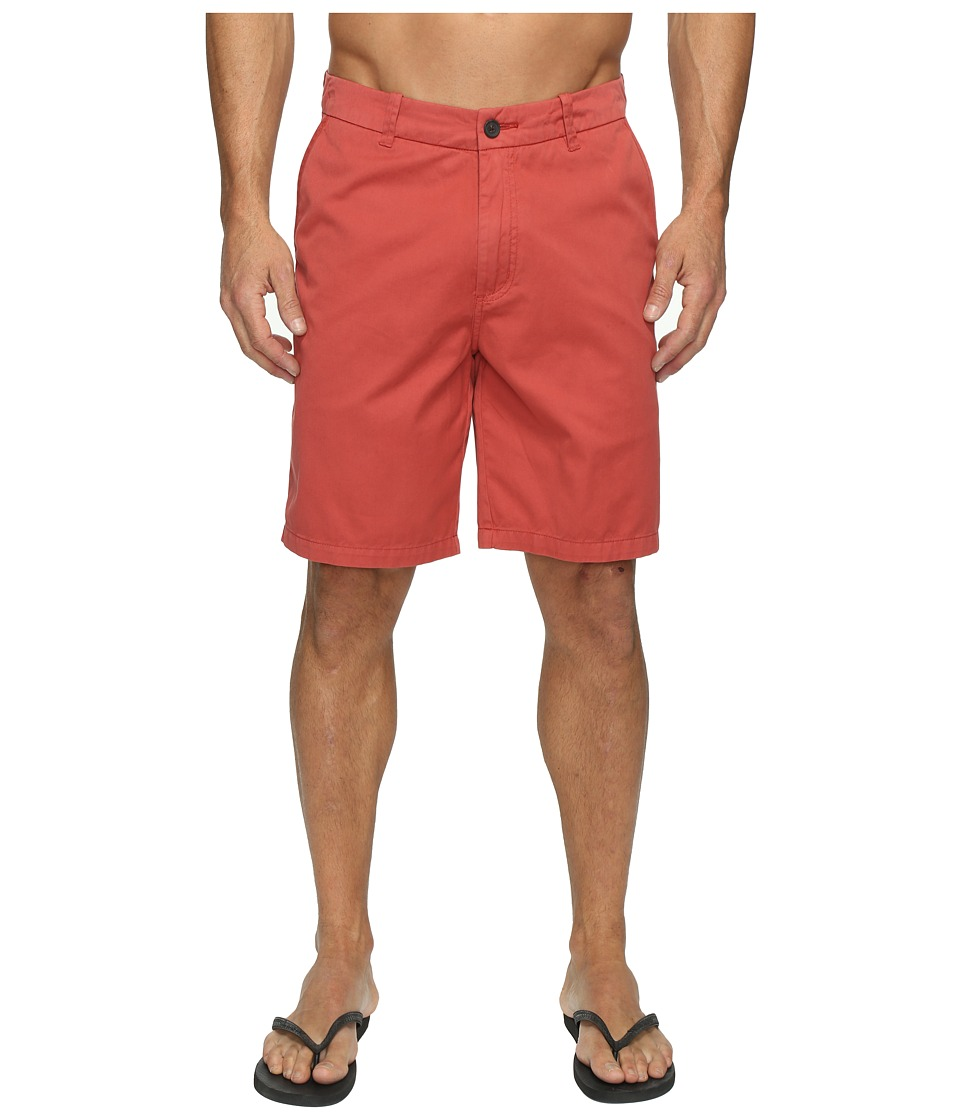 Quiksilver Waterman Down Under 4 Walkshorts (Red Ochre) Men