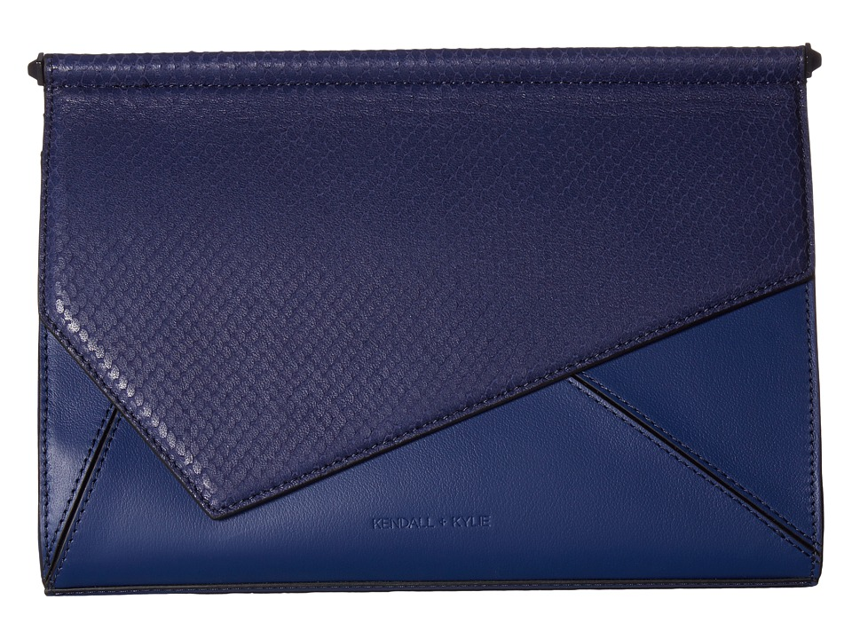 KENDALL + KYLIE Ginza Clutch (Midnight Navy) Clutch Handbags