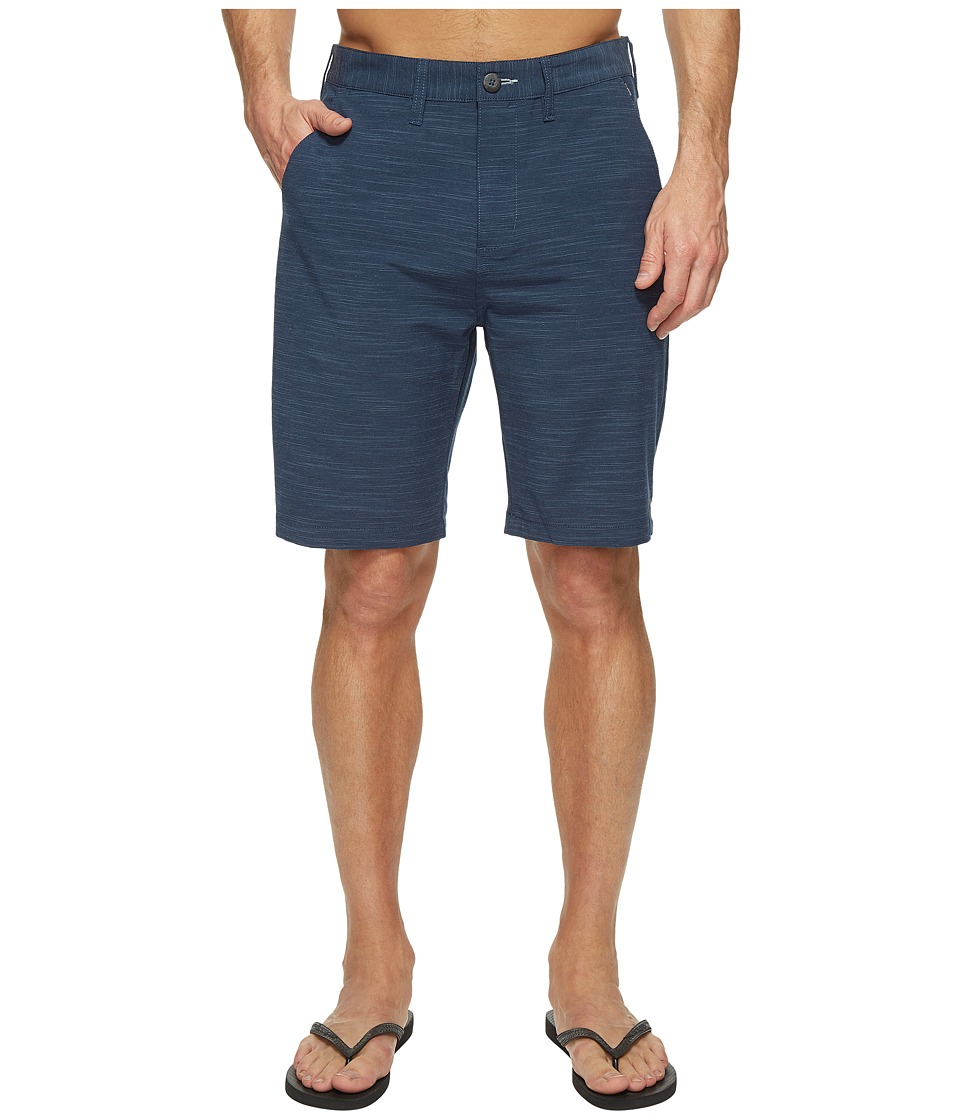 Billabong Crossfire X Slub Walkshorts (Dark Slate) Men