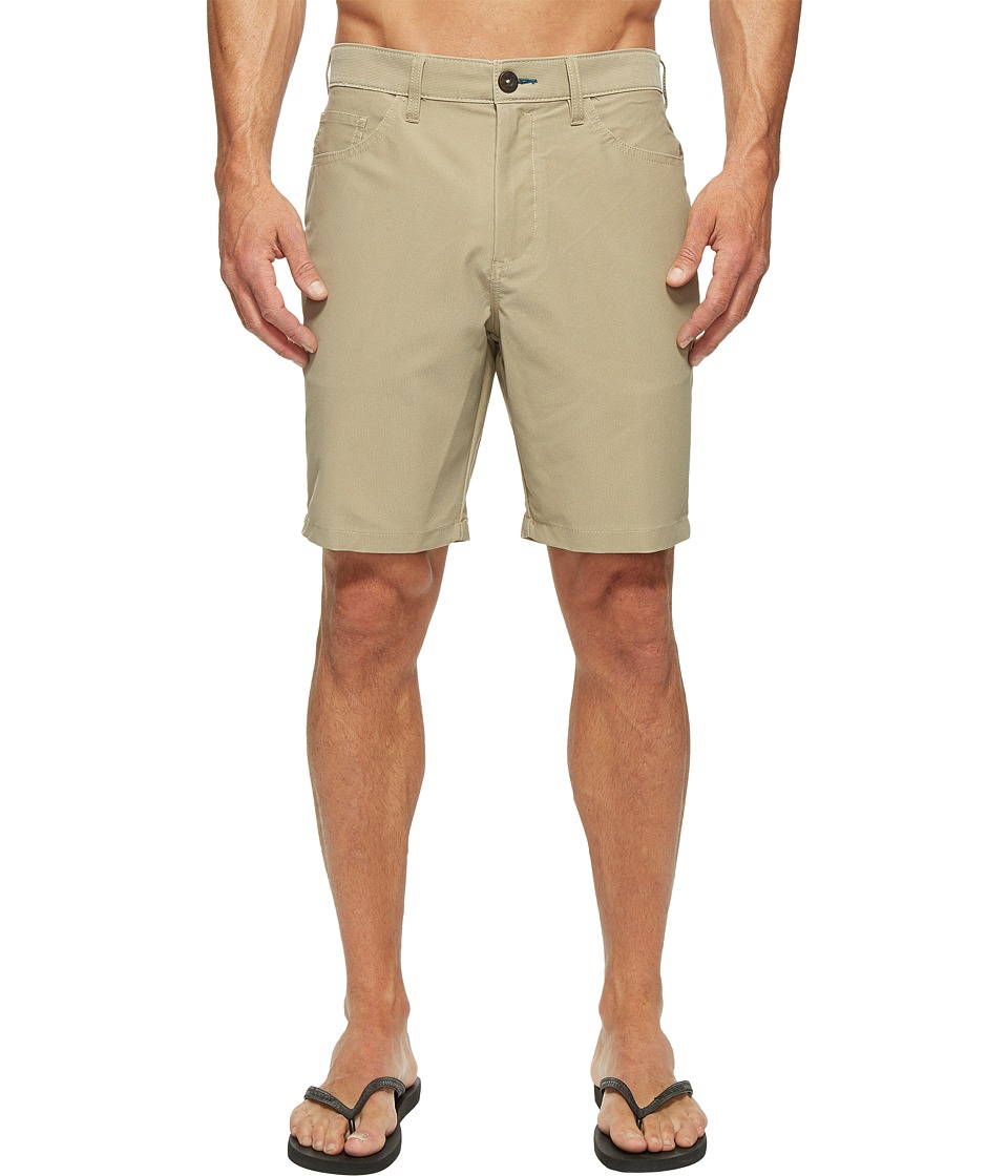 Billabong Outsider X Surf Cord Walkshorts (Light Khaki Heather) Men