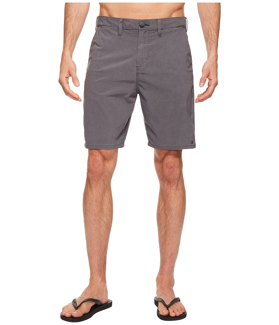 Billabong New Order X Overdye Walkshorts (Black) Men
